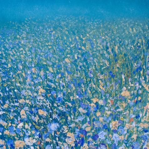 'A Thousand Fields' 40 x 40 cm
