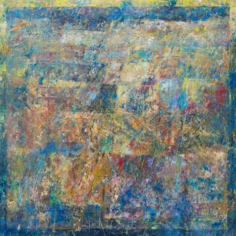 'Promised Land' 60 x 60 cm