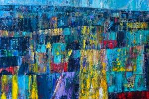 Painting: Oil on Deep Edge Canvas Size: 95 H x 64 W x 2 cm