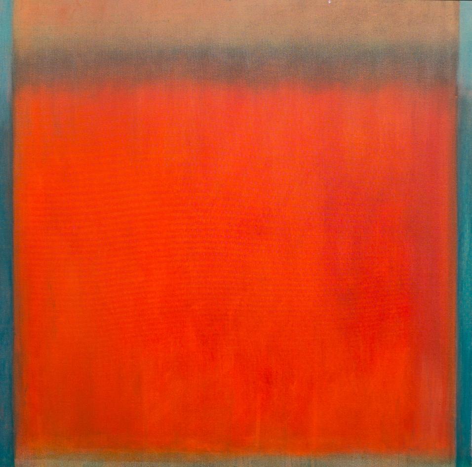 'Afterglow' 80 x 80 cm