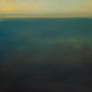 'Black Sluice' 80 x 80 cm