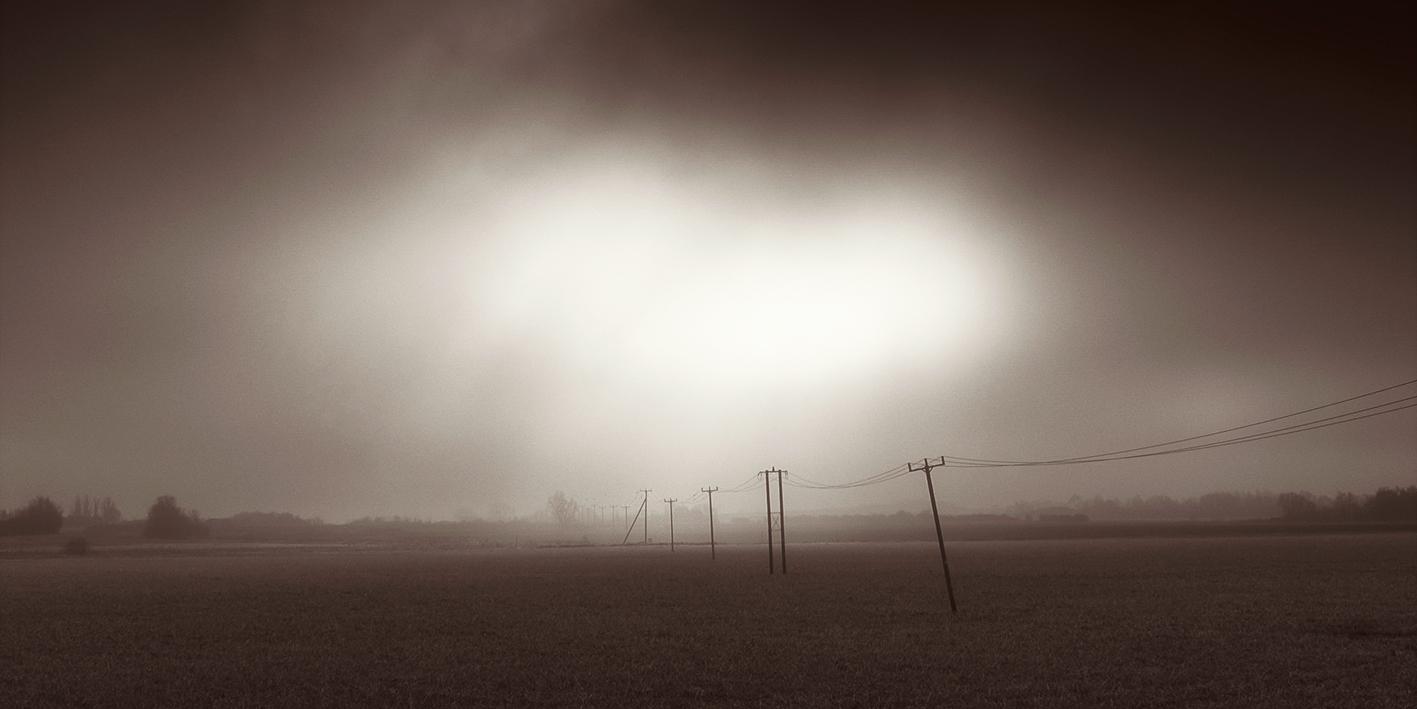Monochrome Fenland Landscape photography
