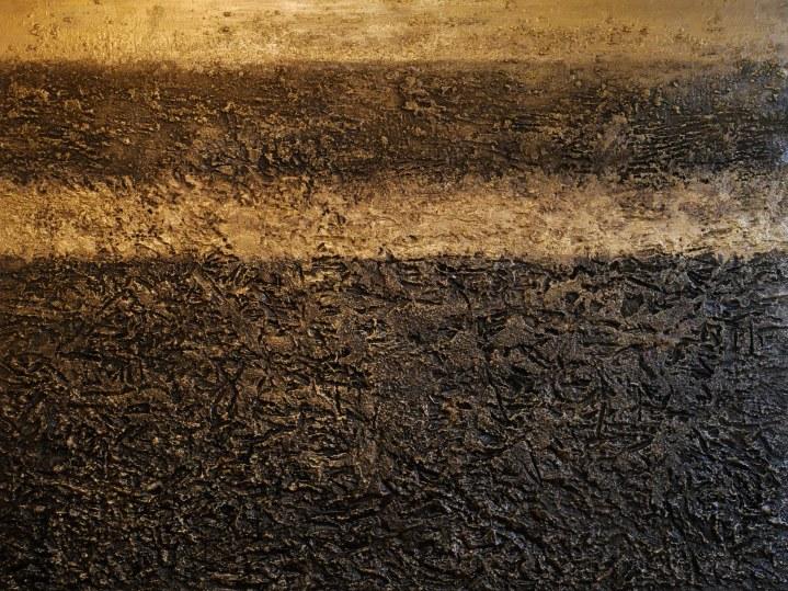 landscape painting river texture impasto contemporary