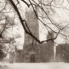 'Ely Cathedral, Winter'