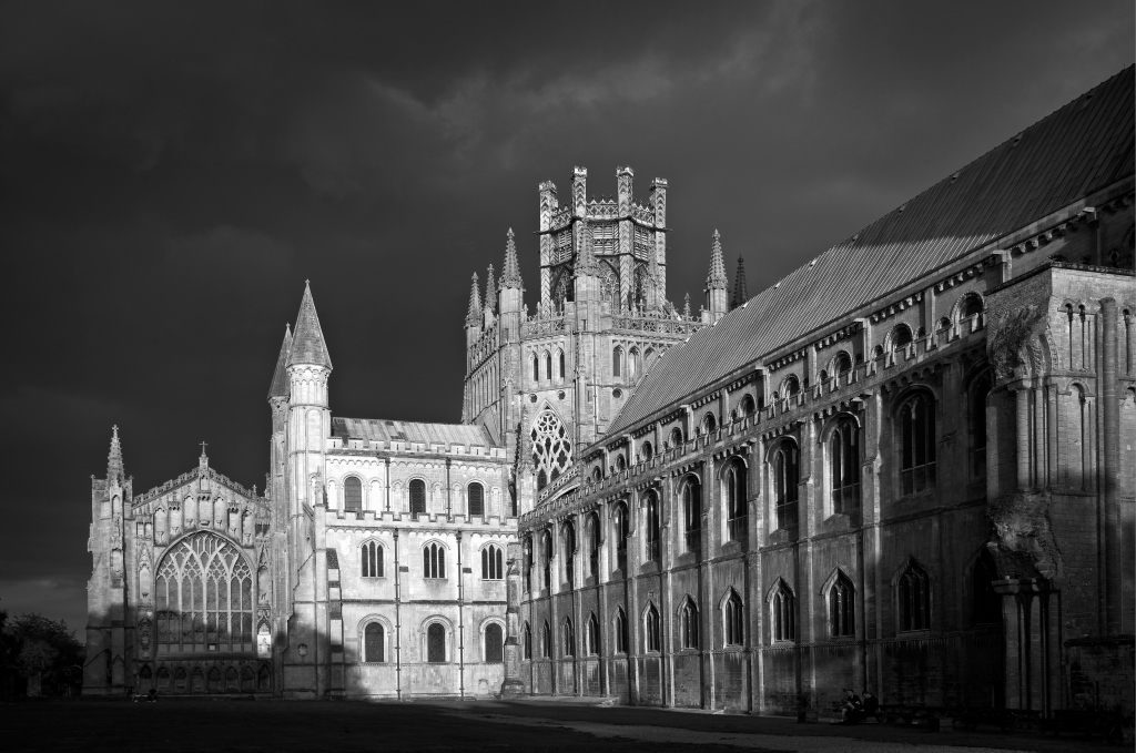 Ely Cathedral evening light