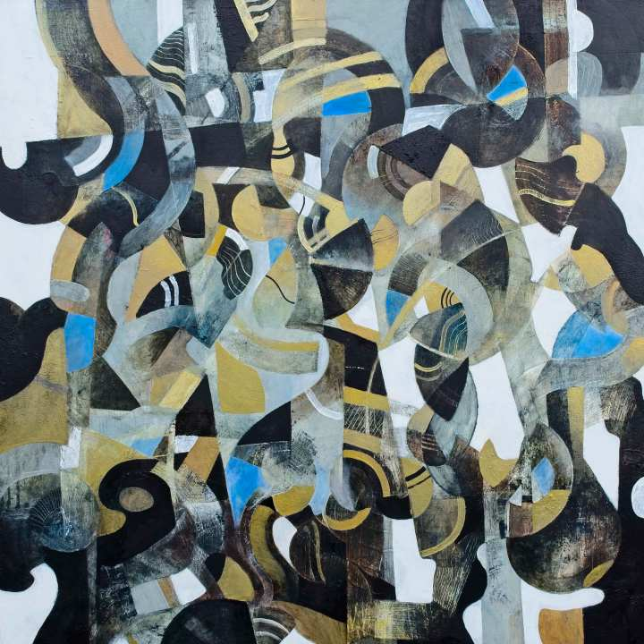 Thicket Painting on Canvas Peter Corr