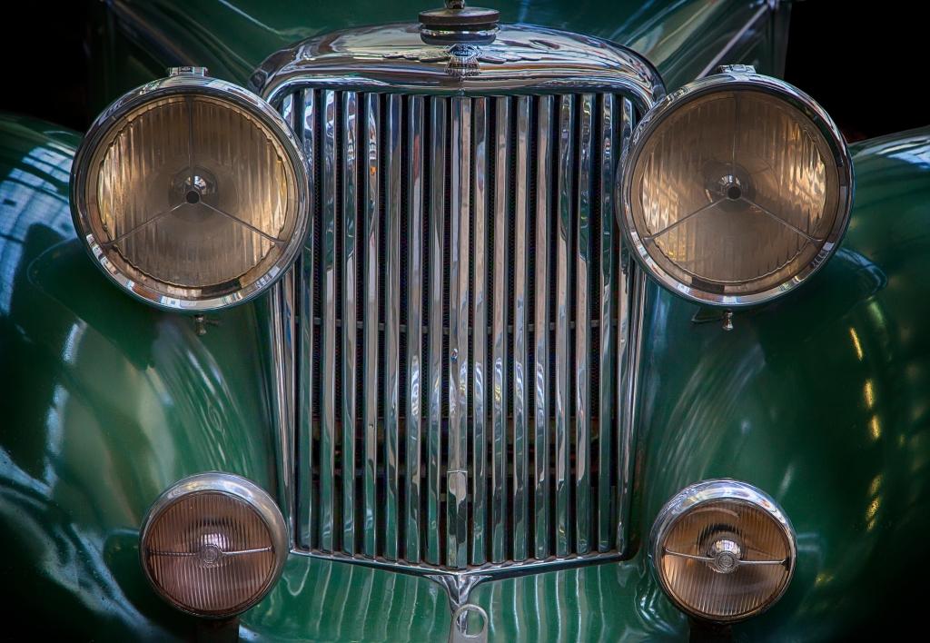 vintage car jaguar photograph